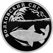 1 рубль Волховский сиг