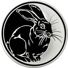 3 рубля Кролик
