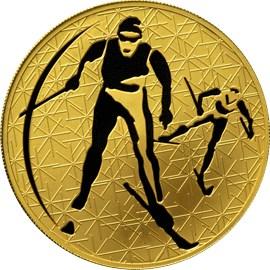 200 рублей Лыжные гонки